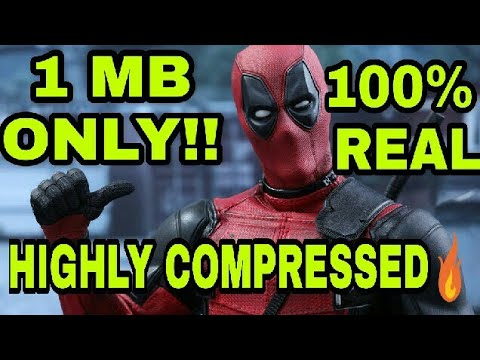 Deadpool PC game highly compressed ( 1 MB only) 100%working 🔥