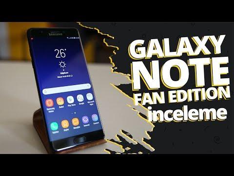 Galaxy Note FE inceleme! - Telefonu hediye ediyoruz! Link açıklamalarda!