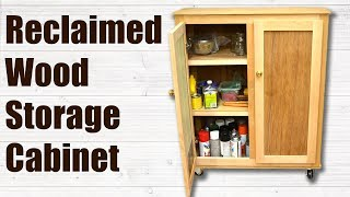 In this woodworking project I show you how to make Storage Cabinet from Reclaimed Wood. Today I have gathered together my