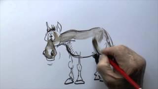 WHAT DID KARL MARX CALL HIS HORSE ?  [ JOKE ]