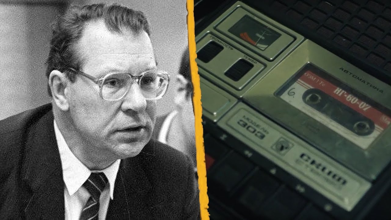 Chernobyl: Valery Legasov Tapes - Legasov's Original Own Voice HD ...