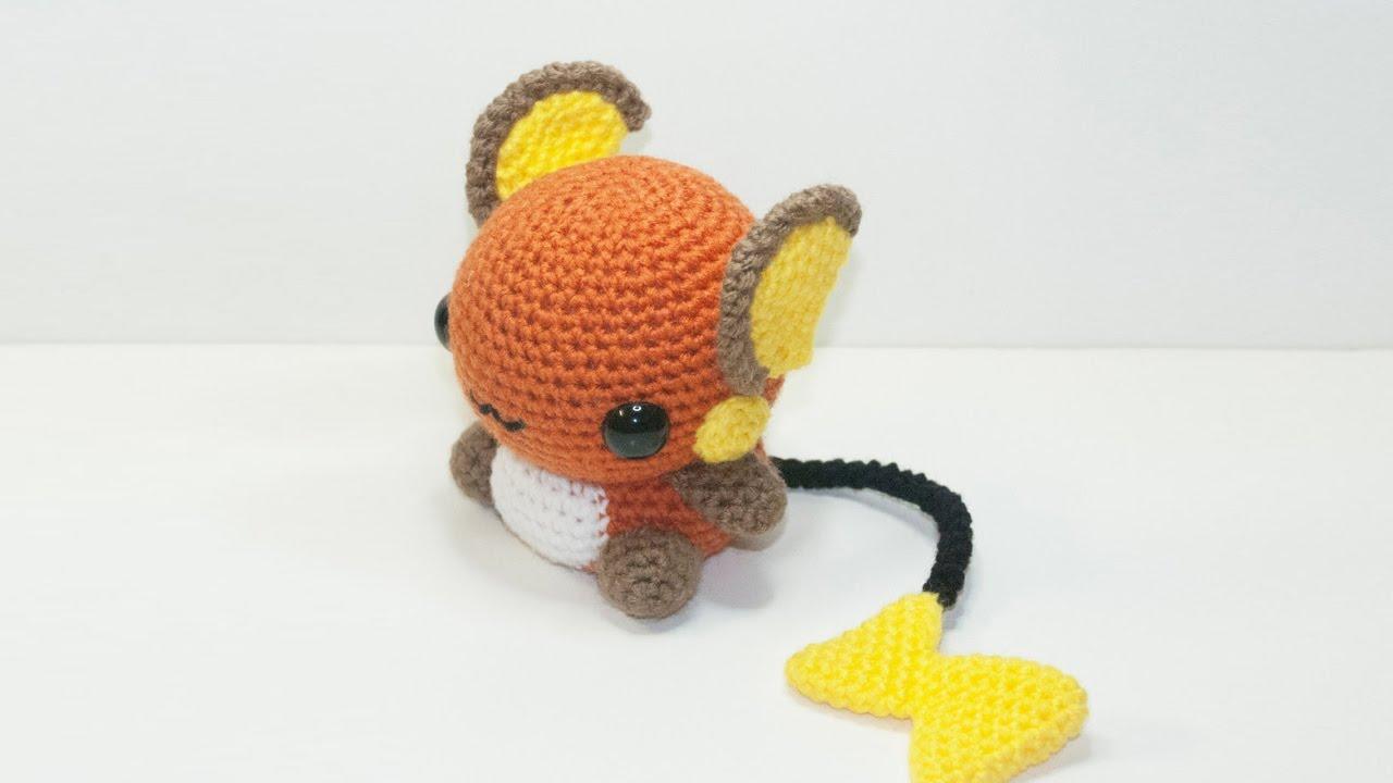 Eva channel | Raichu Amigurumi Crochet Tutorial - YouTube