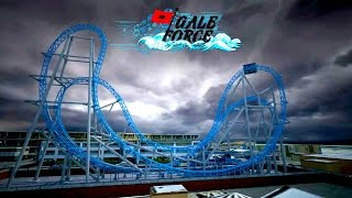 GaleForce Roller Coaster Coming to Ocean City New Jersey 2016 AWESOME!