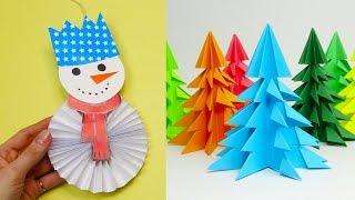 8 diy christmas | Christmas crafts for kids | 5 minute crafts christmas