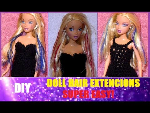 100 hand made how to make barbie doll hair extensions super 100 hand made how to make barbie doll hair extensions super easy pmusecretfo Gallery