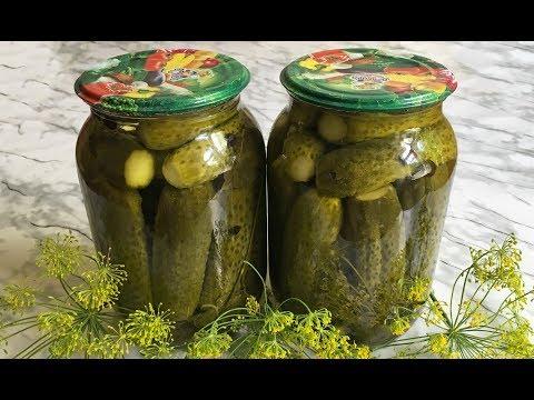 Огурцы на Зиму / Маринованные Огурцы / Хрустящие Огурцы в Банках / Cucumbers For Winter
