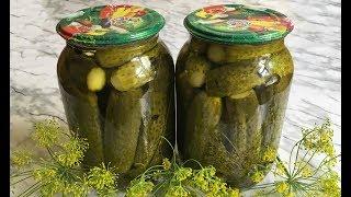 Огурцы на Зиму Маринованные Огурцы Хрустящие Огурцы в Банках Cucumbers for Winter