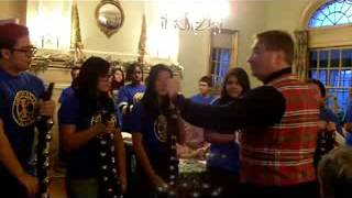 Tuned Sleigh Bells By Students Jingle for Seniors