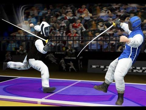 Fencing Sword Fight 2018: Pro Swordsmanship Combat