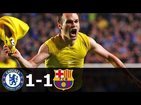 Barcelona VS Chelsea 1-1 Champions League (20th February, 2018 20/2/2018)