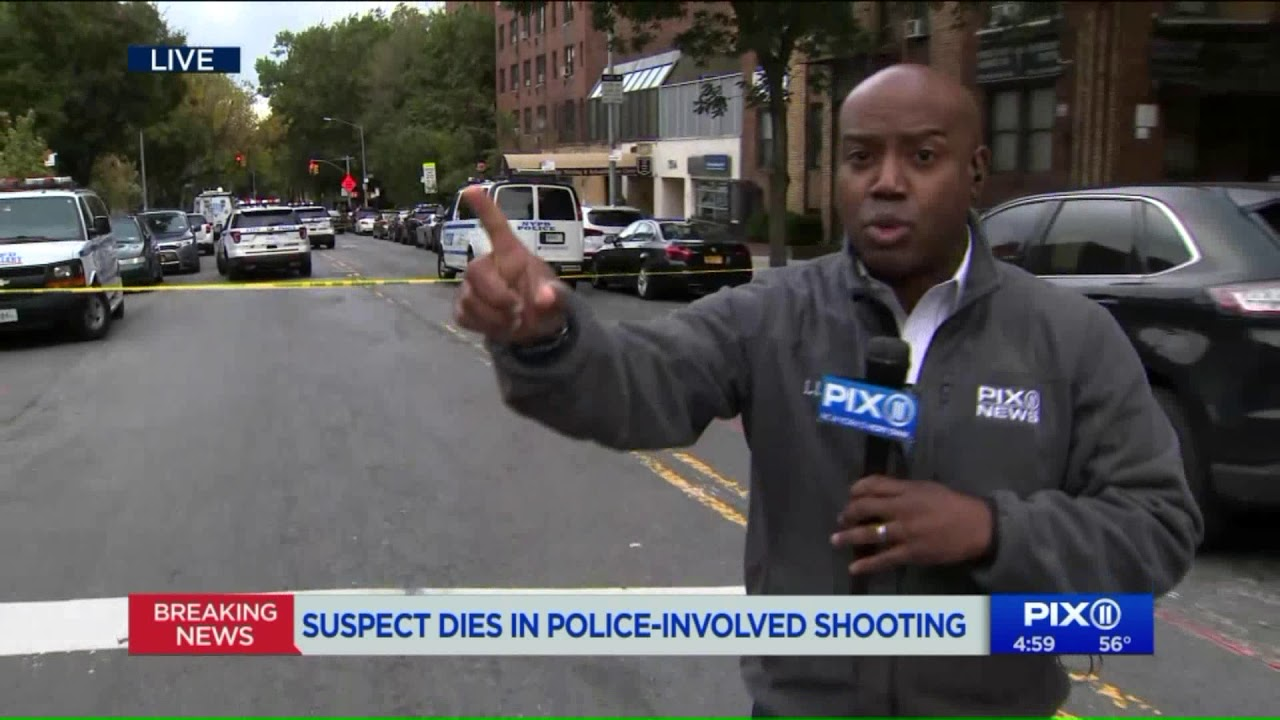 Suspect dies in police-involved shooting in the Bronx