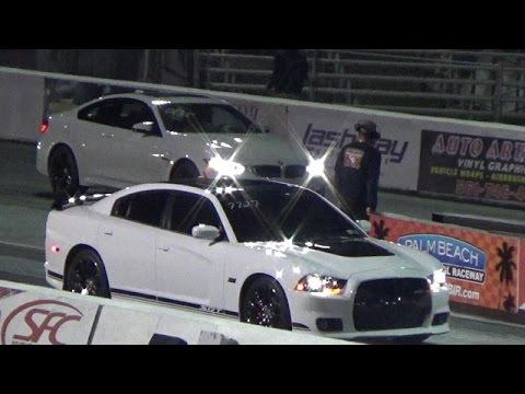 2015 BMW M4 vs 6.4L CHARGER 392 SRT8 1/4 Mile Drag Race Road Test TV ®