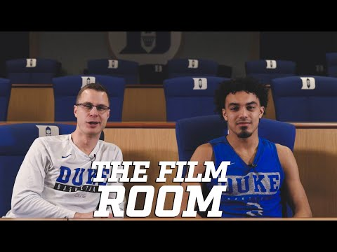 The Film Room: Jon Scheyer With Tre Jones After Epic UNC/FSU Wins (2-14-20)