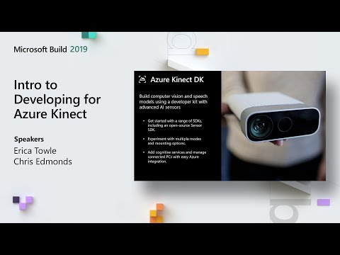 Intro to Developing for Azure Kinect - BRK1001 - YouTube