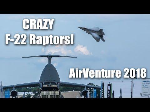 CRAZY F-22 Raptor