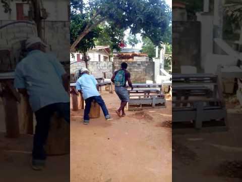 Fight in mandeville Jamaica
