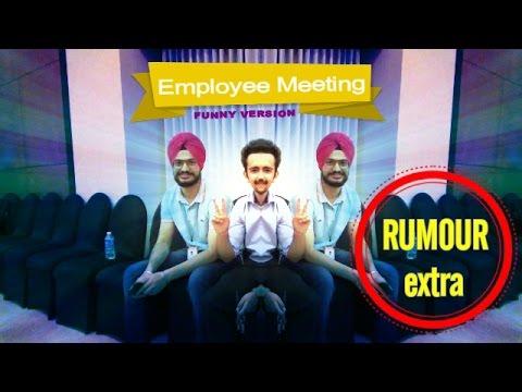 Employee Meeting | Lemon Tree Hotel | Funny | Bangalore