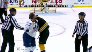Colton Orr vs Milan Lucic Mar 4, 2010 thumbnail