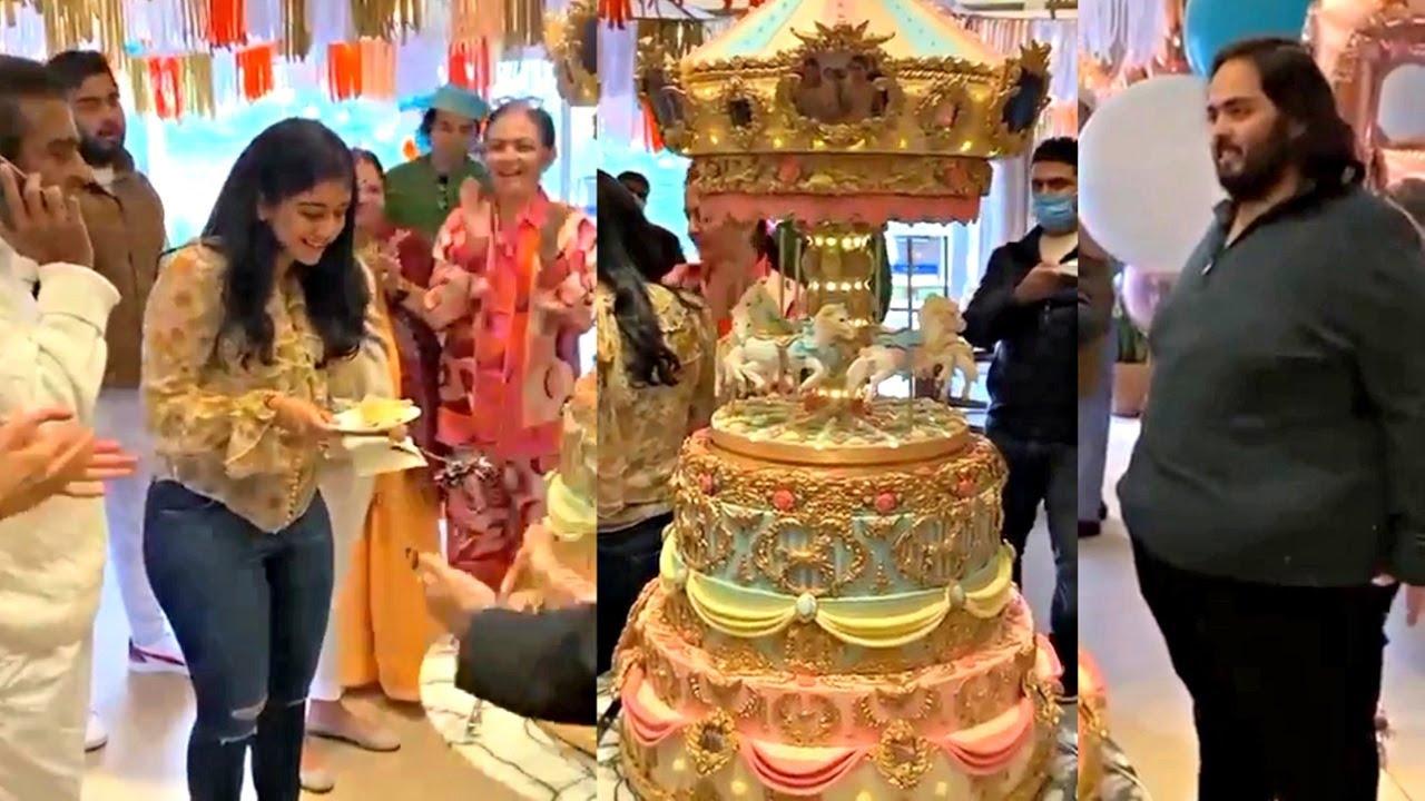 Download Anant Ambani Wife Radhika Merchant GRAND Birthday Celebration In London!!