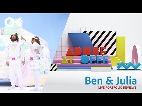 Creative Studio Ben & Julia | OFFF 2017 | Adobe Creative Cloud