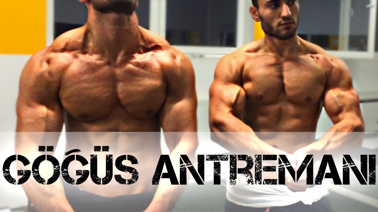 GÖĞÜS ANTRENMANI / Göğüs Kası Geliştirme - Vücut geliştirme Fitness Workout Shredded Brothers