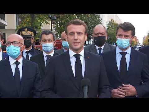 Déclaration du Président de la République après l'attaque terroriste de Nice