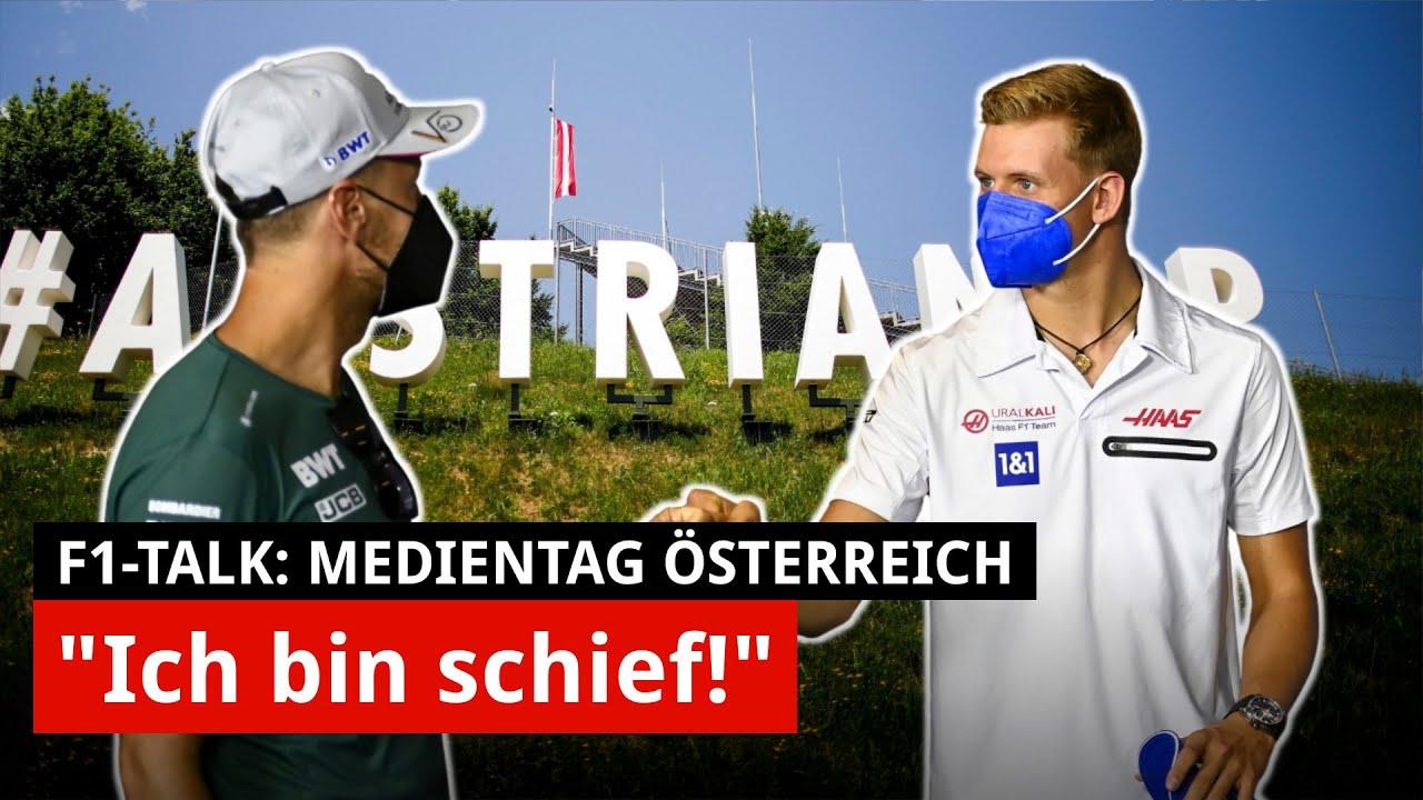 Download Vaterfigur Vettel: Diesen Rat hat er Mick Schumachers Mama gegeben!   Medientag F1 Spielberg 2021