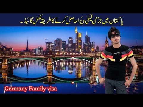 Germany visa for family reunion,  family visa for Germany