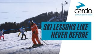 Ski Lessons Like Never Before: Instant Feedback Through Always-On Group Communication