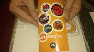 Nostalgamer Unboxes EA Replay On Sony Playstation Portable UK PAL System Version