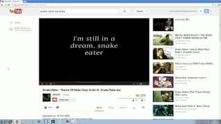 Drunken Jigzaw sings Snake Eater