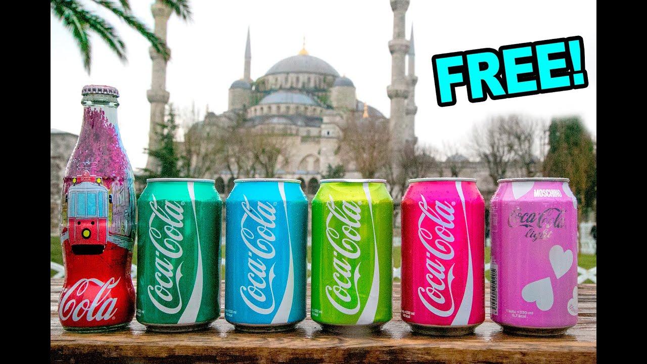 Regalo cocas turcas de colores alex tienda youtube - Regalos coca cola ...