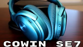 Testing out the Cowin SE7 ANC Bluetooth Headphones
