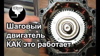 4.7 Шаговый двигатель. Как это работает