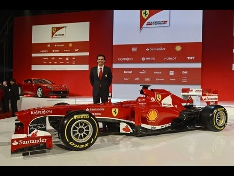 Ferrari F138 - 2013 F1 Car for Formula 1 2013 Season