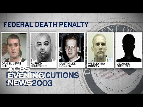 Justice Department To Execute Death Row Inmates