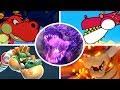 Evolution of Dragon Battles in Mario Games (1996-2017)