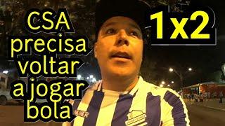 CSA 1x2 Ponte Preta | Azulão Vacilão!