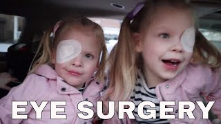 YOU WONT BELIEVE HOW THE GIRLS SHOWED UP TO THE BINGHAMS ON THE DAY OF EYE SURGERY