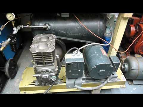 Break in procedure for quincy compressors youtube for Air compressor for pool closing