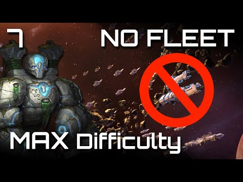 「Stellaris」CRISIS Spawns on Top of Us! - Still No Fleet [7/8] |