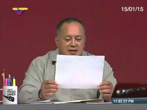 Diosdado Cabello acusa a corresponsal de Al Jazeera de ser una espía