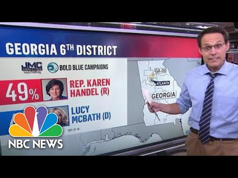 Follow The Money: Steve Kornacki Looks At Where The GOP And Democrats Are Spending Big | NBC News