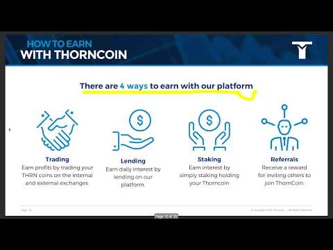 Should You Buy? Thorncoin ICO WhitePaper