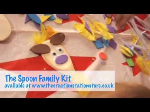 The Creation Station Spoon Family Kit