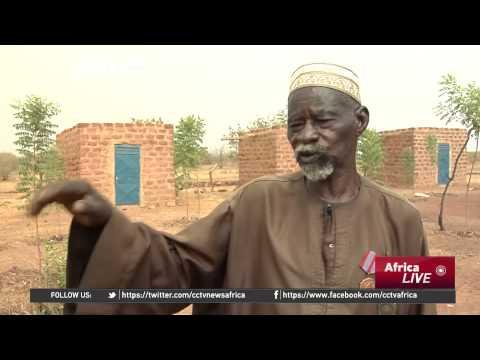 One Man Strives To Transform Barren Land in Burkina Faso