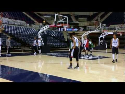 UConn Mens Basketball Practice 12/15/2012