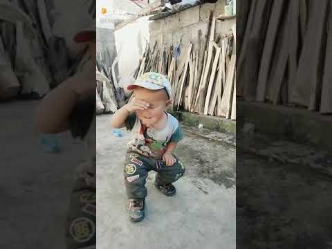 Lucu anak siapa ya..nasi uduk semur jengkol