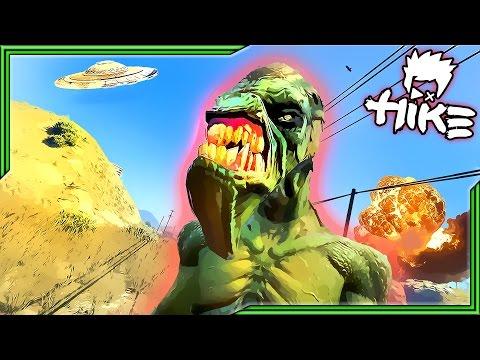 GRAND THEFT ALIEN!! Episode #1 - The Crash (GTA 5 CINEMATIC)