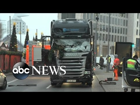 ISIS Claims Responsibility for Berlin Christmas Market Attack